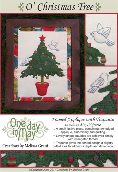 O' Christmas Tree pattern cover