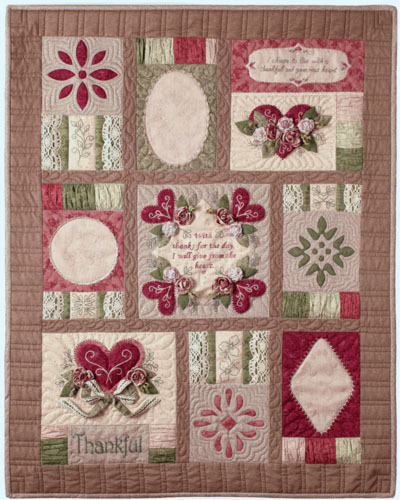Thankful - full quilt - LARGER file size
