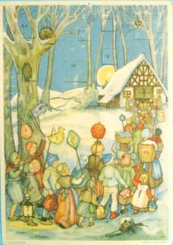 Vintage advent calendar 6