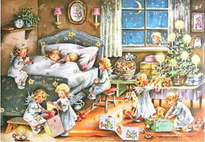 Vintage advent calendar 5