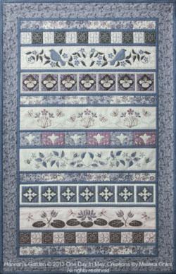 B Hannah's Garden Quilt