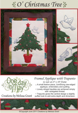 OD7 O' Christmas Tree ~ pattern cover