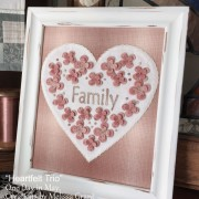 Heartfelt Trio - framed Family