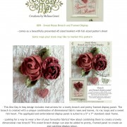 OD9 Sweet Roses pattern description and marketing suggestions