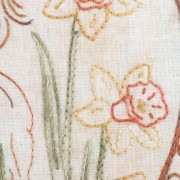 Playing in the Daffodils - daffodil detail