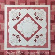 Spring Blush Table Topper - One Day in May