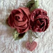 Sweet Roses ~ Brooch