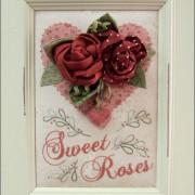 Sweet Roses in frame