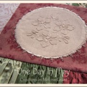 Thankful - includes three Faux Doilies