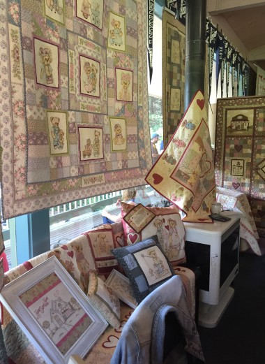 Libby Richardson designs at Quilt In 2015