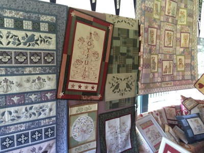 One Day in May and Libby's new quilt at Quilt In 2015
