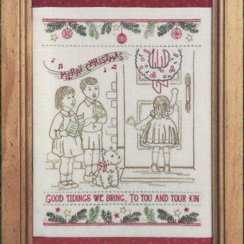 We wish you a... - Vintage Christmas Stitchery