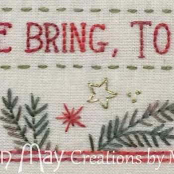 Good Tidings - bottom border