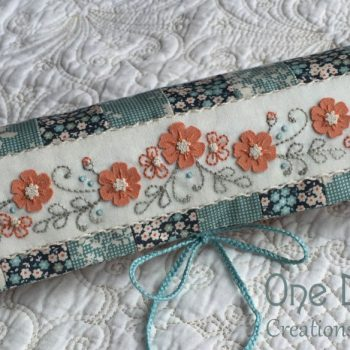 Petite Blooms - Needlework Roll