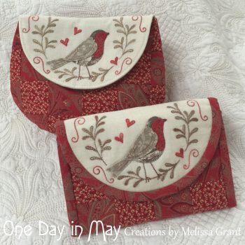 Red Robin Pouch & Jewellery Keep