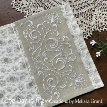 A Doily for Claire - closeup