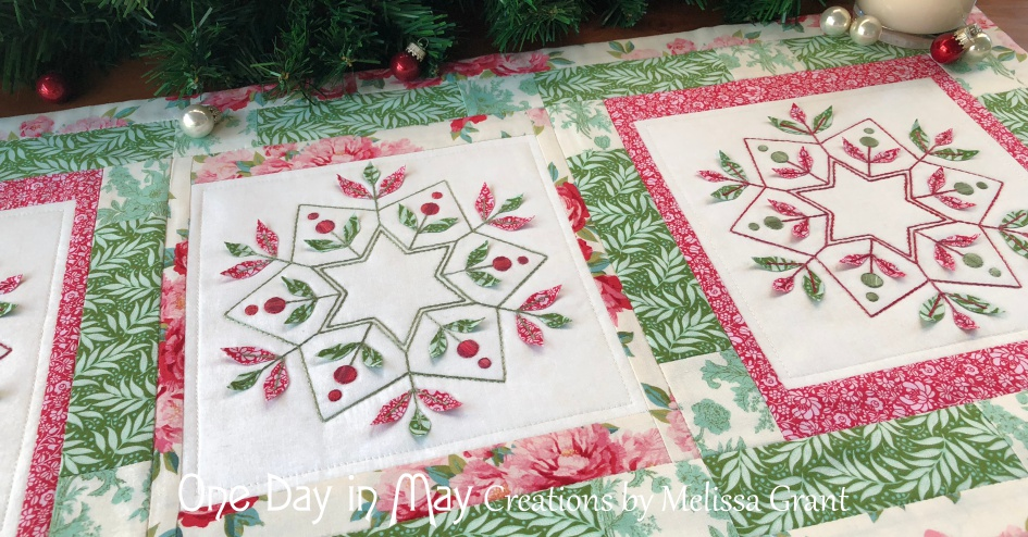 Merry & Bright ~ block detail