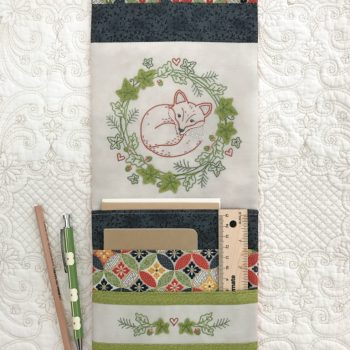 Resting Fox ~ Pocketed Organiser