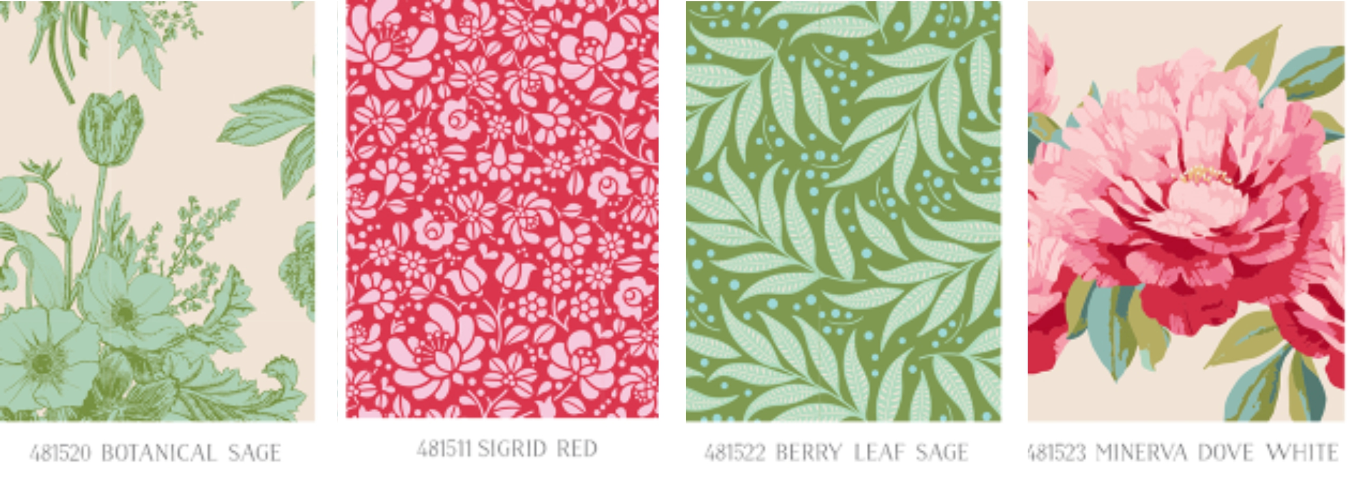Tilda Cottage - fabric selecction