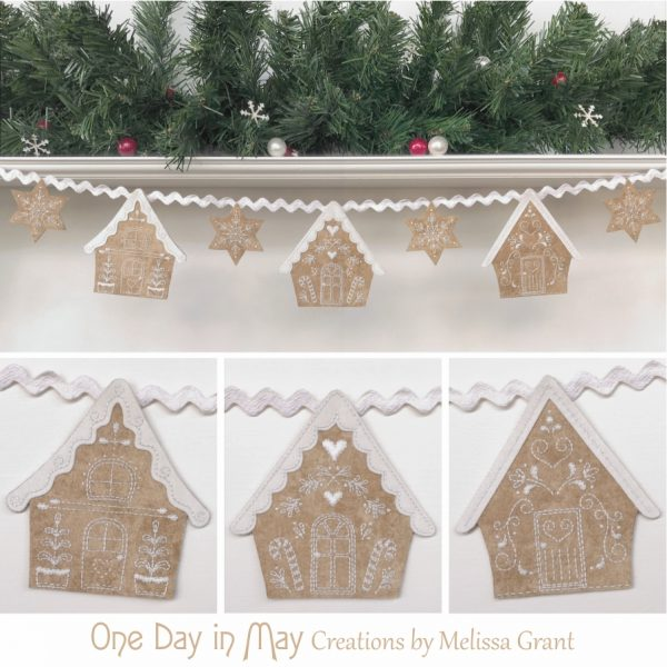 Gingerbread Lane ~ Christmas swag