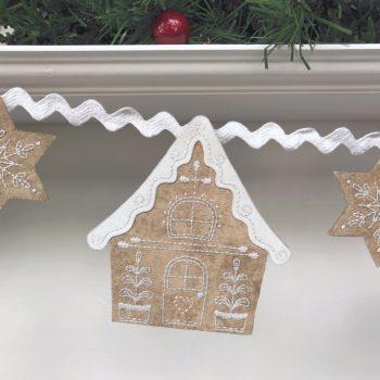 Gingerbread Lane - house 1 detail