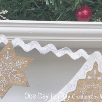 Gingerbread Lane - star detail