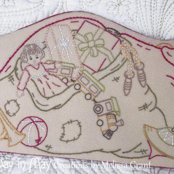 Sleepy Santa ~ Santa's sack