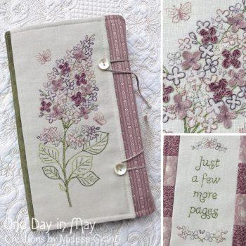 Sweet Lilacs ~ book wrap