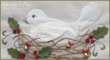 The Joy of Christmas ~ bird closeup