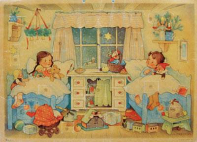 Vintage advent calendar 3