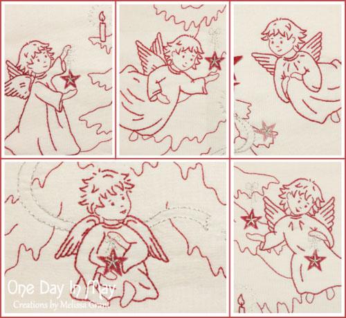 Joyful Angels angel collage