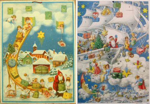 Vintage advent calendar 7