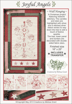 Joyful Angels pattern cover