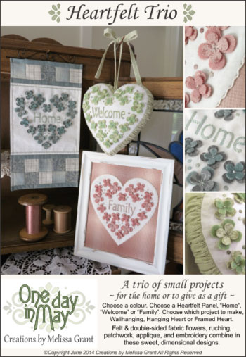 Heartfelt Trio Pattern Cover