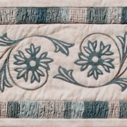 A Cornflower Gathering ~ table runner - One Day In May