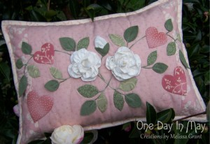 As Roses Bloom cushion - One Day In May