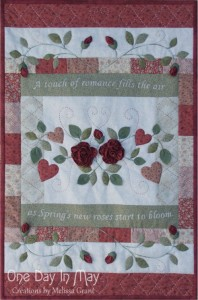 As Roses Bloom small quilt - One Day In May