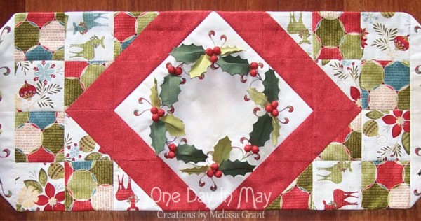 Deck the Halls Table Runner - One Day in May