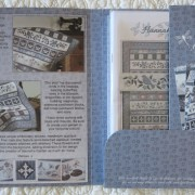 Hannah's Garden - inside pattern folder