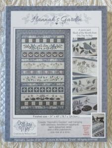 Hannah's Garden - pattern folder