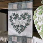 Heartfelt Trio - Home wallhanging