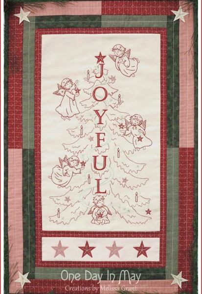 Joyful Angels - wallhanging