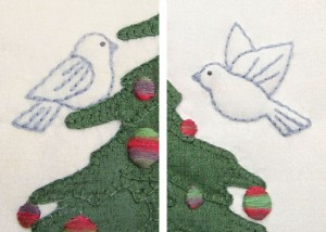 O' Christmas Tree - bird detail