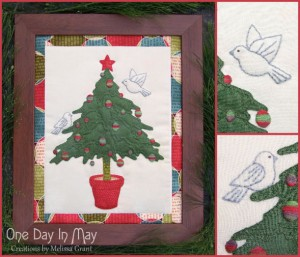 O' Christmas Tree -collage One Day In May