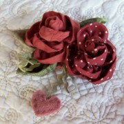 Sweet Roses ~ Brooch 2