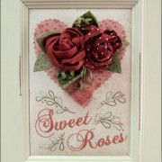 Sweet Roses in frame
