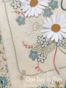 From the Fields - Embroidery Detail