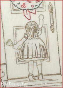 Good Tidings - little girl knocking