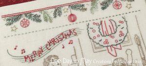 Good Tidings - lyrics and wreath closeup