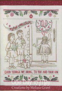 Good Tidings - a vintage Christmas stitchery